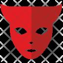 Devil Hero Face Icon