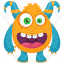 Devil Colorful Beast Icon
