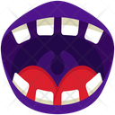 Devil Devil Teeth Halloween Icon