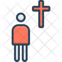 Devote Prayer Religion Icon