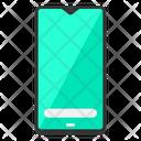 Smartphone Gadget Waterdrop Icon