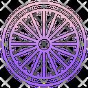 Dharma Wheel Buddhism Wheel Wheel Icon
