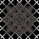 Dharmachakra Icon