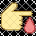 Diabetes Blood Donation Icon