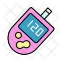 Diabetes Checker Blood Glucose Health Icon
