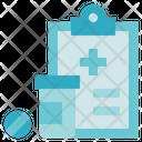 Medical Service Diagnose Report Icon