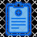 Diagnose Report Health Icon