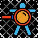 Diagnosis Prognosis Analysis Icon