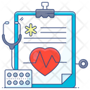 Health Report Medical Report Doctor Report Icon