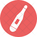 Diagnostic Fever Medical Thermometer Icon