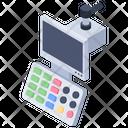 Diagnostic Machine Hospital Machine Ultrasound Machine Icon