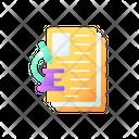 Diagnostic Test Examination Icon