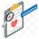 Health Report Report Diagnosis Report Analysis Icon