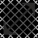 Diagonal Screen Size Icon