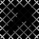 Diagonal Arrow Right Icon
