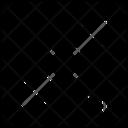 Diagonal Resize Maximum Icon
