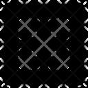 Diagonal All Direction Icon
