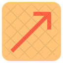Diagonal Arrow Resize Icon