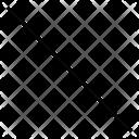 Diagonal Arrows Double Ended Icon