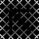 Arrow Diagonal Open Icon