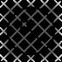 Diagonal Arrow Up Left Arrow Icon