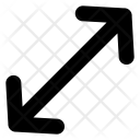 Diagonal Arrows Icon