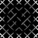 Diagonal Arrows Arrow Direction Icon