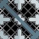 Diagonal Down Border Interface Essentials Table Color Shadow F Icon