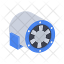 Diagonal fan Icon