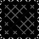 Diagonal Left Right Icon