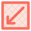 Diagonal Left Right Icon
