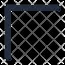 Chevron Diagonal Icon
