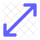 Diagonal-resize Icon