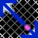 Diagonal Resize Arrow Resize Icon
