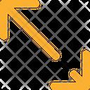 Diagonal Resize Icon