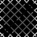 Diagonal Resize Resize Arrow Icon