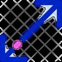 Diagonal Resize Arrows Diagonal Resize Arrow Icon