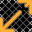 Diagonal Resize Arrows Icon