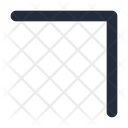 Diagonal Right Up Arrow Icon