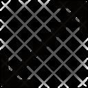 Diagonal Stretch Icon