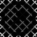 Diagonal up right arrow Icon