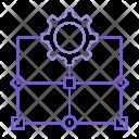 Flow Diagram Setting Icon