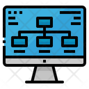 Diagram Computer Monitor Icon