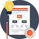 Diagram Flowchart Idea Icon