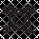 Diagram Analytic Icon