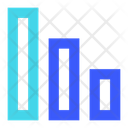 Diagram Down Icon