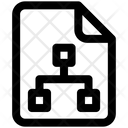 Connection Data Document Icon
