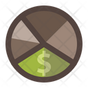 Pie Chart Money Design Icon