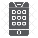Dial Number Smartphone Icon
