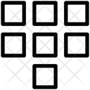 Dial Grid Code Icon